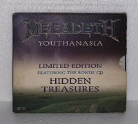 Megadeth: Youthanasia with Hidden Treasures - CD Album - Limited Edition - 2 Discs
